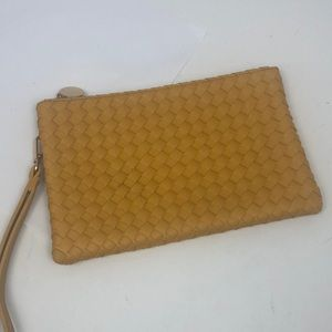 Urban Expressions Leather Wristlet